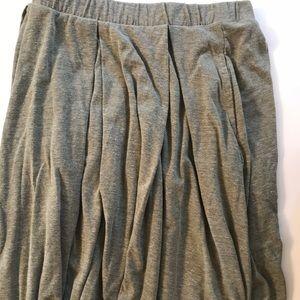 Madison box pleated skirt